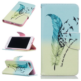 Iphone Ii Canada - Flower Cartoon Wallet Leather Pouch Case For Iphone 7 Plus 7plus 7G Huawei Mate 8 Honor 5A Y3 Y5 II Tree Butterfly Stand ID Card TPU Cover
