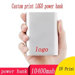 Wholesale Price Power Bank Canada - Manufacturers selling mobile power supply 10400 mAh perfume Universal power bank custom gift wholesale price