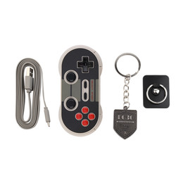 China Portable Wireless Bluetooth Classic 8Bitdo NES30 Pro Game Controller Full Buttons for iOS Android Gamepad PC Mac Linux NEW suppliers