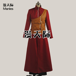 Discount free naruto costumes Wholesale-2016 Anime Naruto Cosplay Costume Gaara Cosplay Costume Free Shipping