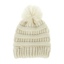 $enCountryForm.capitalKeyWord UK - new autumn and winter hot children's wool knit hat warm earmuffs men and women baby hair ball cap