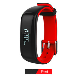 $enCountryForm.capitalKeyWord NZ - Smart Bracelet P1 Bluetooth Wristband With functions of Sleep monitoring Sedentary Reminder suit for IOS  Android system