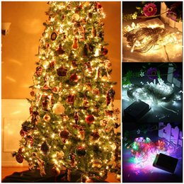 Wholesale 20M leds Multicolor Led String Light V EU Plug Display Modes Outdoor Waterproof Led Decoration Light