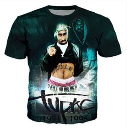 8bf5bc37ef8 New Fashion Womens Mens Tupac Shakur 2Pac Biggie Smalls Funny 3D Print T- Shirt US07