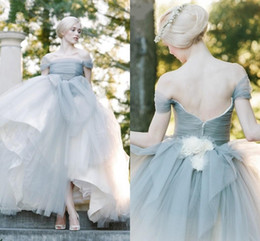 Light Grey Ball Dresses