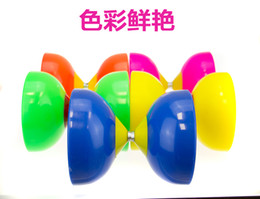 Friction Toys Wholesale Canada - fNot afraid to throw the double-headed cup diabolo send the strongyloidiasis full set of adult children beginners diabolo Monopoly wholesale