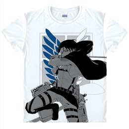 attack titan shirts NZ - Anime Shirt Attack on Titan T-Shirts Multi-style Short Scout Legion Ackerman Cosplay Motivs Shirts Tee-Style070-3-NO02