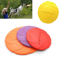 Pet Plastic frisbee online shopping - Pet Dog Flying Disc Tooth Resistant Training Fetch Toy Play Frisbee High Quality New Selling Hottest Dogs Toys Funny Play Balls