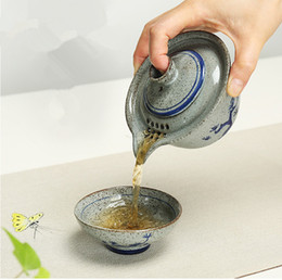 $enCountryForm.capitalKeyWord Canada - High Quality Kung Fu Tea Set A Pot A Cup Of Blue And White Porcelain A Personal Office Ceramic Tea Cup To Travel
