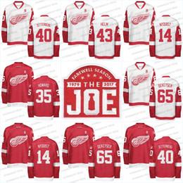 Detroit Red Wings 9 Gordie Howe Jersey Mr. Hockey Patch Commemorative Patch  14 Gustav Nyquist 15 Riley Sheahan 21 Tomas Tatar Hockey Jerseys fd1d52e29