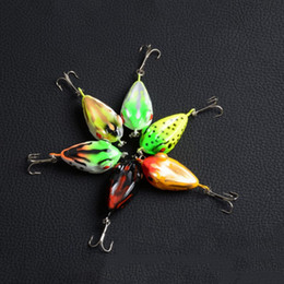 new frog lures 2019 - New 6 Color 4cm 6g MOCRUX 3D Eye Fishing Lure Colorful Hard Frog Bait Sharp Hook Tackle topwater Fishing Lures Tackle Ba