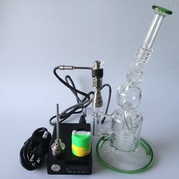 $enCountryForm.capitalKeyWord Canada - 2016 E Digital Nail Kit with 6 in 1 Titanium Quartz hybrid nail coil heater work with oil rigs Glass bong water pipe