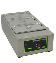 melting chocolate NZ - Free Shipping 3 Tanks 12kg Capacity Chocolate Melting Machine Butter Melt
