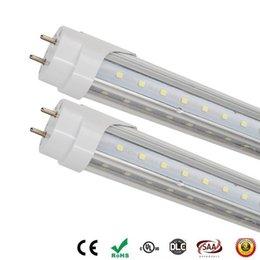 Vente en gros 10 pc 4FT LED allume les tubes en forme de V de 28W LED SMD 2835 conduit tube fluorescent LED de la lampe T8 G13 AC85-265V