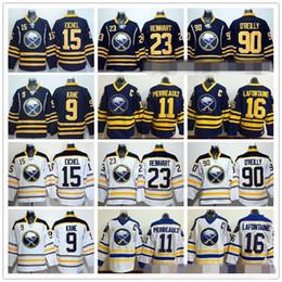 b7c67203f12 ... Blue Authentic 2010 New Third NHL Jersey Buffalo Sabres 15 Jack Eichel  Ice Hockey Jerseys 9 Evander Kane 23 Sam Reinhart 90 Ryan . ...