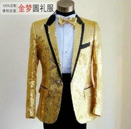 Discount Gold Prom Blazers | 2017 Gold Prom Blazers on Sale at ...