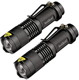 Discount best led for flashlight - 2017 Rockbirds LED Flashlight, A100 Mini Super Bright 3 Mode Tactical Flashlight, Best Tools for Hiking, Hunting, Fishin