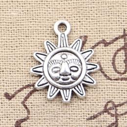 $enCountryForm.capitalKeyWord Canada - 100pcs Charms sun 20*16mm Antique Making pendant fit,Vintage Tibetan Silver,DIY bracelet necklace