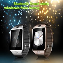 Wholesale smart watch phone for sale - Group buy Bluetooth smart watch Latest SmartWatches With SIM Card smart watches for android phones inch pk U8 GT08 gv18 GV09