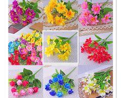 Discount spring flowers for wedding bouquets spring flowers for spring flowers for wedding bouquets 2018 artificial daisy flowers european floral artificial flower bouquet silk mightylinksfo