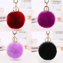 Discount toy apples - Cell Phone Pompon Straps Mobile Charms Decor Fashion Winter Kids Toys Women Christmas Gift Mix Color New