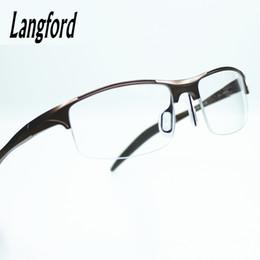 Discount fashionable frame spectacles - Wholesale- Cool mens optical glasses frames stylish spectacle frames designs Fashionable styled streamline eyeglasses mo