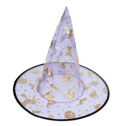 $enCountryForm.capitalKeyWord UK - Hot sale 2017 Free shipping Part parts Wholesale price Halloween witch's hat suit for Costume party and Costume props Colors mixed batch
