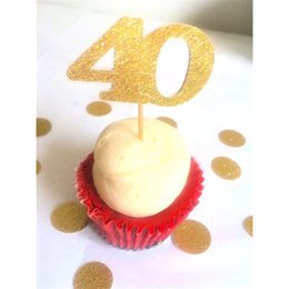40th Birthday Cake Toppers Online 40th Birthday Cake Toppers for