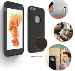 $enCountryForm.capitalKeyWord NZ - Novel Anti-gravity Phone Case For iPhone 7 7 Plus 6 6s Plus 5s SE Magical Anti gravity Nano Suction Cover Adsorbed Car Antigravity Cases