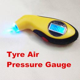 Digital Car Air Pressure Canada - new arrival Car Tire Tyre Air Pressure Gauge Meter Manometer Digital LCD Barometers Tester Tool For Auto Motorcycle