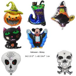 halloween foil balloon toys birthday party decoration kids skull game gift on stock inflables foil balloon classic toys wholesale - Halloween Kid Games Online