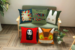 $enCountryForm.capitalKeyWord Canada - Animation Miyazaki Hayao Cartoon Collection Cute Pets Emoji Pillow Massager Decorative Pillows Fashion Home Decoration Kids Gift