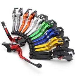 Folding levers online shopping - Adjustable Folding Motorcycle Brakes CNC Brake Clutch Levers for Motorcycles Hand Lever For Most Motorcycles Colours