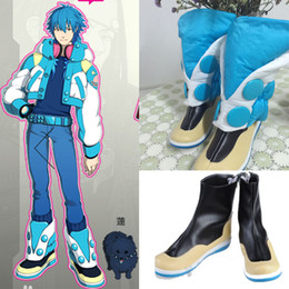 Barato Assassinato Dramático Aoba-TOP Exclusivo Popular Anime assassinato dramático DMMD Seragaki Aoba Cosplay Botas Halloween Chrismas de alta qualidade à mão