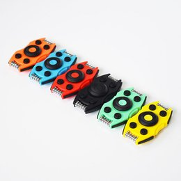 SportS car Shape online shopping - With Button Fidget Spinner Sports Car Shape Gyro Hand Spinners Reliever Press EDC Desks Focus Finger Toys Hot Sale bs B