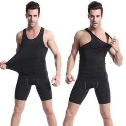 $enCountryForm.capitalKeyWord Canada - Outdoors Sports Tight Ball Clothing Shirt For Men Running Riding Gyming Basketball Vest Tops Sleeveless T-shirt LX4213
