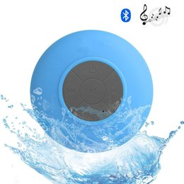 Shower Iphone Speaker NZ - Fashion Portable Waterproof Wireless mini Bluetooth Speakers shower Handsfree Call Music Suction Mic For iphone cellphone smartphone