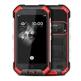 Wholesale Gps Radio Australia - Blackview BV6000 IP68 WaterProof Mobile Phone 4G LTE Android 6.0 MTK6755 Octa Core 2.0Ghz 3GB RAM 32GB ROM GPS