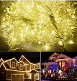 string red star lights NZ - IP44 50M 500 LED Warm White Red Yellow Blue Purple Pink MultiColor chain fairy String Lights for holiday Christmas Light AC110V 220V