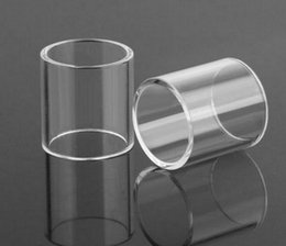 clear baby 2019 - DHL FREE Clear TFV8 Big BABY RBA Glass Tube Pyrex Replacement Glass Sleeve for 5ML TFV8 Big BABY Tank RBA Ecig Wholesale