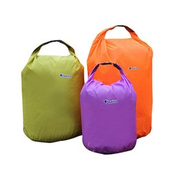 646dcc69d826 Sports Outdoor Camping Travel 20L 40L 70L Folding Portable Waterproof Bag  Storage Dry Bag for Canoe Kayak Rafting Kit Set 2503044
