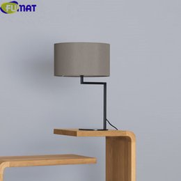 $enCountryForm.capitalKeyWord NZ - FUMAT Modern Table Lamps for Bedroom Bedside Desk Lamp Simple Table Lamp Office White Black Grey Cloth Fabric Table Light