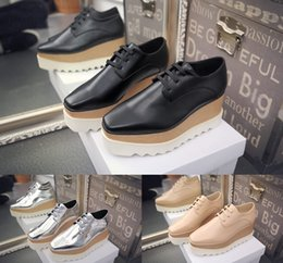 $enCountryForm.capitalKeyWord Canada - New Arrival Italian Brand Stella Shoes Women Causal Shoes Stars Wedges Outsole 100% Genuine Leather 33-41 free shipping