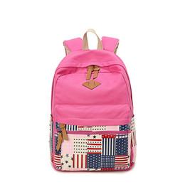 Boy Flap Bag Canada - Best Selling!!! Boys Girls Schoolbag Vintage Shoulder Bag Traveling Sport Backpack Canvas Fashion Flap Bag Fuchsia