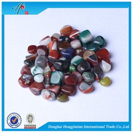 tumbling stones UK - FREE SHIPPING Wholesale Assorted sale Tumbled stone 15-25mm Natural Crystal Mixed Agate Beads Healing reiki & good lucky energy stones