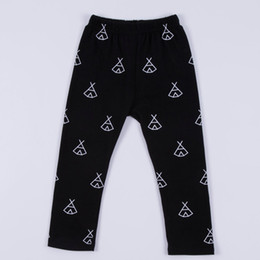 $enCountryForm.capitalKeyWord Canada - INS baby pants new children teepee printed PP pants boys girls leisure pants toddlers kids cotton leggings A8710
