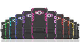 Cell Phone Cases For Samsung Galaxy Canada - Hot Selling 3 in 1 Super Combo Clip Case Shockproof Cell Phone Case With Holder Stand TPU+PC For Samsung Galaxy Grand Prime G530
