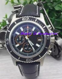 $enCountryForm.capitalKeyWord NZ - Luxury Brand watch Mens superocean heritage 46 chronometer Date Quartz leather Sport Chronograph Watch Men belt floding clasp Dive Wristwatc