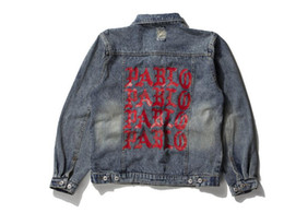 $enCountryForm.capitalKeyWord Canada - KANYE WEST SEASON 3 oversized PABLO men Jackets broken hole jean coat HIPHOP Motorcycle jacket men Jeans denim jacket
