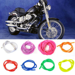 brand 1m red motorcycle dirt bike fuel gas oil delivery tube hose line petrol pipe 5mm i d 8mm o d